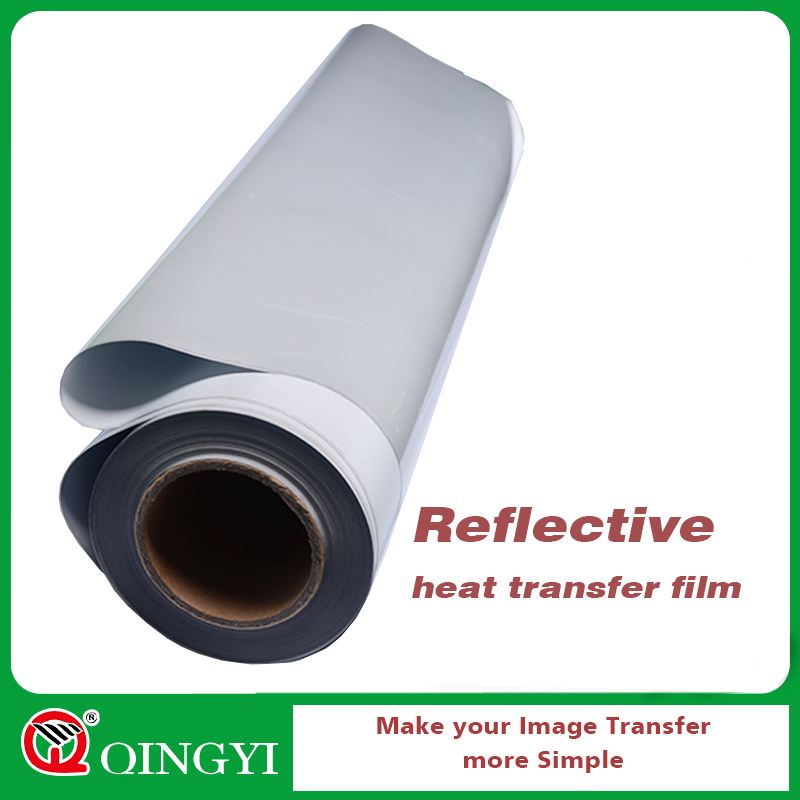 QingYi high quality silver reflective film for sports clothes