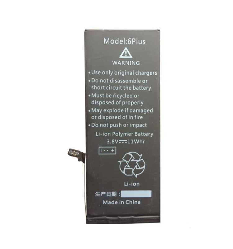 li ion battery for iPhone 6P battery for iPhone 6+ internal battery brand new pure cobalt