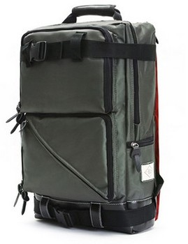 New style military green laptop backpack for leisure or school