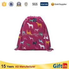 Hot sale custom muslin bag drawstring