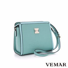 Blue Long Strap Square Cross Body Bags Women Handbags Shoulder bag