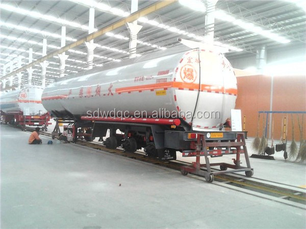 Best price 3 axle fuel tank semi trailer sales