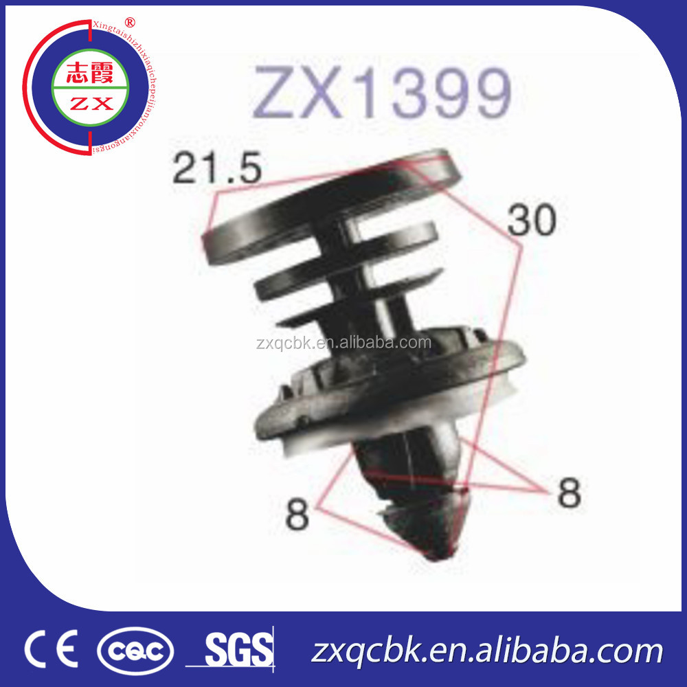 Professional manufacture with good price auto clips plastic car fasteners/plastic clip fasteners/automotive fasteners