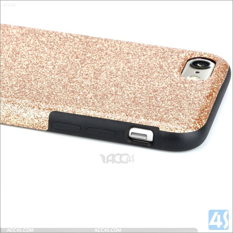Glitter PU and TPU phone case for iphone 7