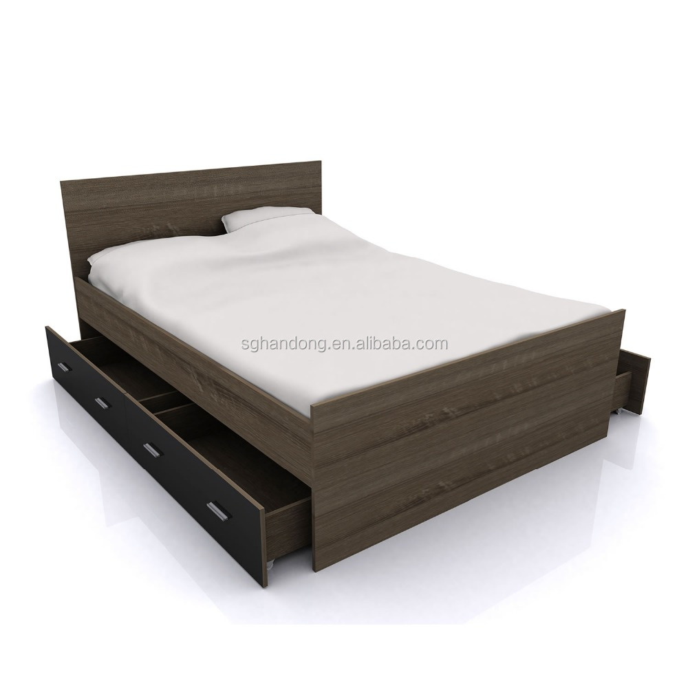 New Design Single Bed Wooden bed Frame for living room furniture