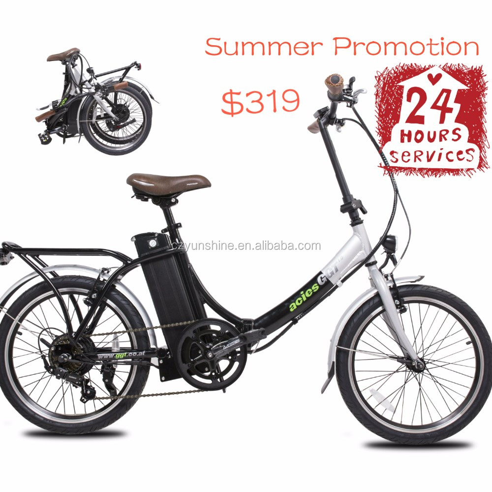 Changzhou Yunshine Summer Promotion ,mid drive 50cc electric start mini dirt folding electric bike