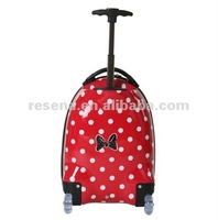 Cartoon Image Design For Children Hard Shell Trolley Luggage Bag,Lovely Kids Trolley Travel Case
