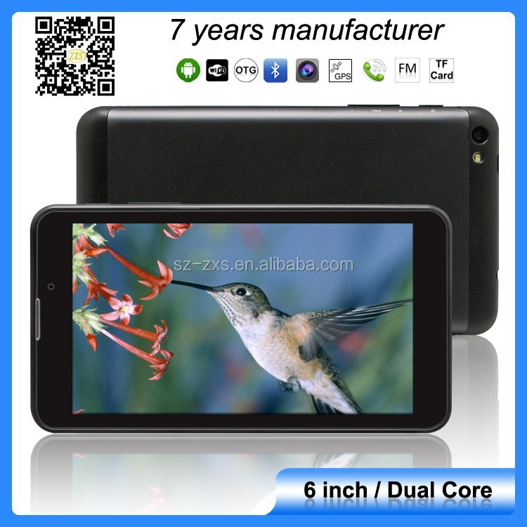 ZXS-610 Best Easy Touch Tablet PC Sim Card Slot/ Android Smart tablet phone ,IPS 6 INCH TABLET PC