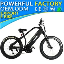 "26"" electric fat tire bike with 48v 15Ah 1000w lock suspension fork MY-YX26 new 01"