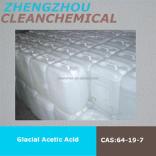 pure glacial acetic acid 99.9% for industry processing
