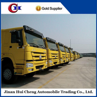 China Sinotruck howo 6x4 tipper/dump truck for hot sale right hand driving vehicle