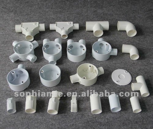 PVC Electrical fittings for pipe
