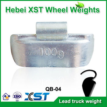 lead clip on wheel weight for truck