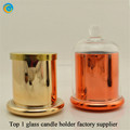 Trade Assurance TOP 1 Glass candle holder factory supplier yufengcraft