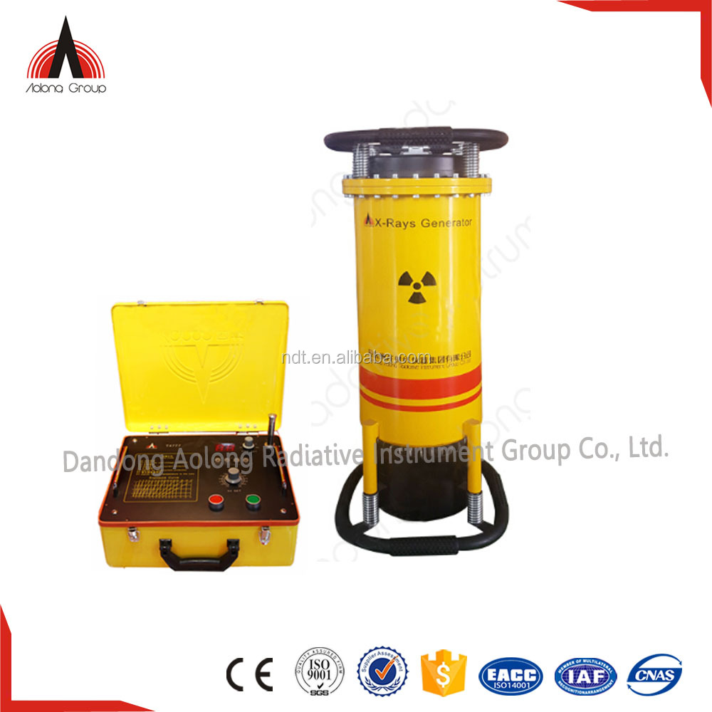 Portable X-Ray Equipment for Welding with glass tube insert