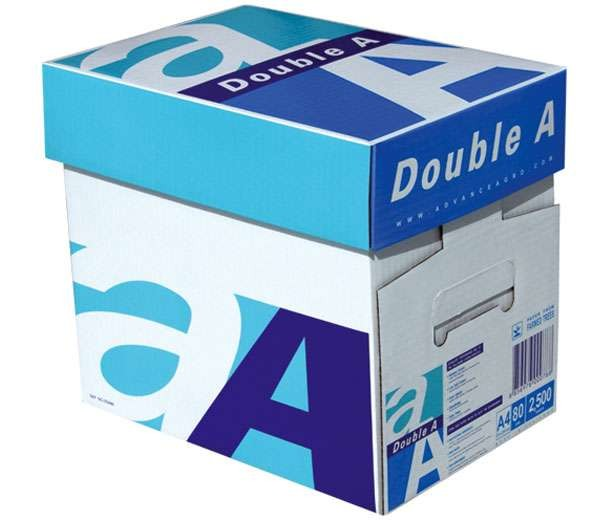 Supplying high quality double A a4 white copy paper from Thailand factory in China