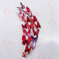 wholesale butterfly fridge magnet/3d pvc fridge magnet/fridge magnet souvenir