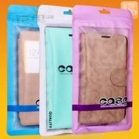 OEM Plastic Bags Manufacturer All Kinds of Printing and Custom Clear Window Cellphone Bags B-02