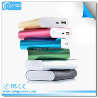 MIQ universal portable aluminum xiaomi power bank 10400mAh