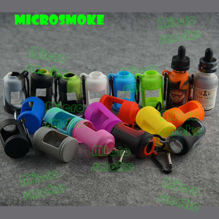 custom silicone case for e liquid bottle e health cigarette liquid e liquid empty glass bottle 30ml
