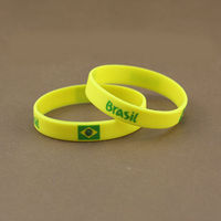 Hot Selling World Cup Silicone Bracelet