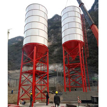 800T construction cement silo products exported