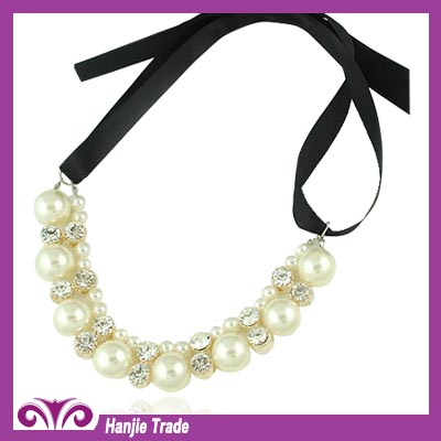2014 Wholesale Latest Elegant Pearl Necklace