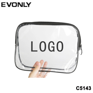 wholesale clear cosmetic bag pvc,customized transparent waterproof travel makeup bag cosmetic