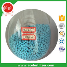 agriculture use compound fertilizers blue granular npk 12-12-17+2MgO+te 12-12-18 te