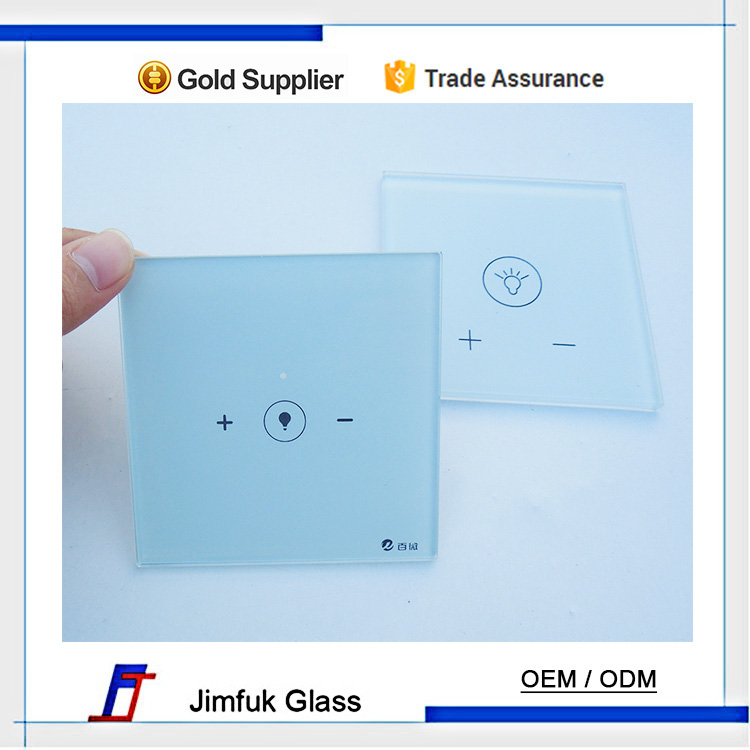High quality anti-scratched glass, tempered glass, light switch glass faceplates