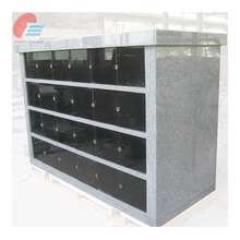 Forty-eight niche grey granite Columbarium design prices
