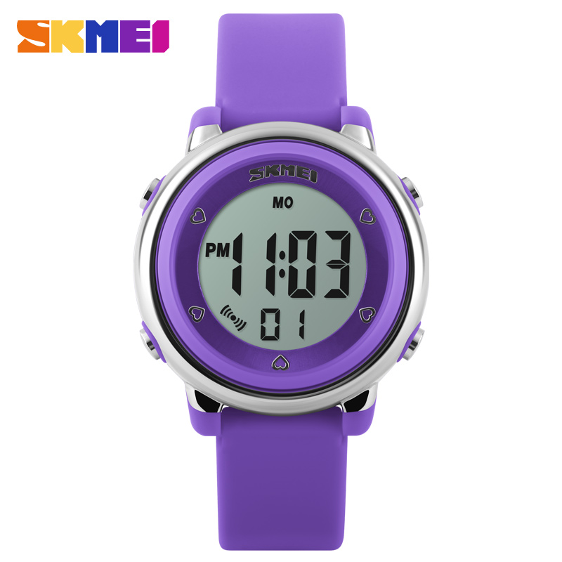 SKMEI NEW Arrival!!! trendy custom design silicone digital watch promotion watch #1100