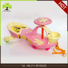 girl boy swing wiggle car ride on twist go kids child scooter/no pedals plasma/kids push car retro swing car