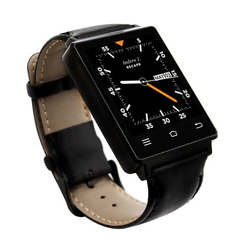 Hot selling D6 Smart Watch Phone 1.63 inch Android 5.1 MTK6580 Quad Core GPS & WiFi & Bluetooth watchphone