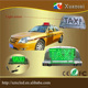 save 20% factory direct selling led roof top TAXI two sides waterproof magnetic display light