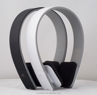 2019 cordless Hi-Fi stereo bluetooth headphones, wireless overhead best headset foldable flexible 40mm driver surround sound
