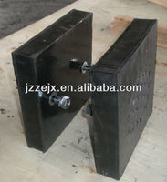 Manufacturing Super Quality Mining Used Diamond and Rubber Wear Panel