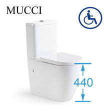 High toilets for disabled and elderly handicap toilets - MUCCI