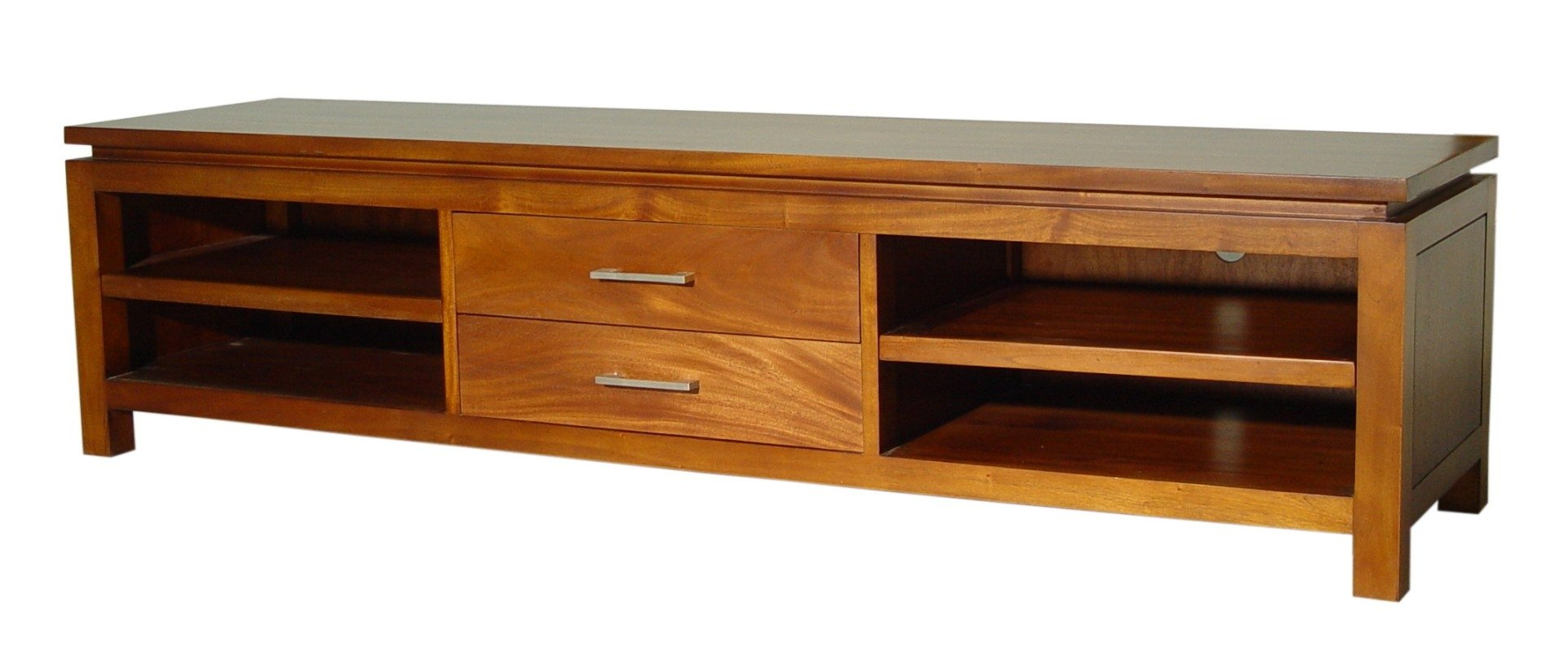 Tv stand 2 cajones de lados planos armarios de madera for Muebles en fibrofacil planos
