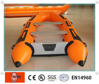 0.9mm PVC Tarpaulin inflatable Flyfish Boat with Factory Price