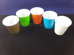 New Product Colorful Disposable Plastic Cup