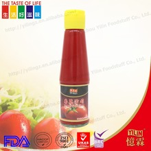 wholesale 200ml YILIN brand tomato ketchup sauce with good price