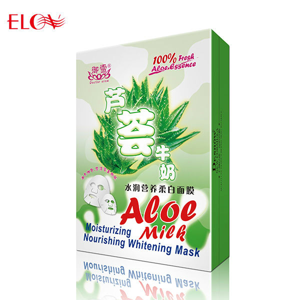 Aloe Vera milk nourishing whitening face mask