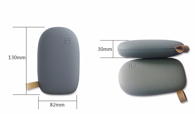 China Manufacturer Low Price 10400mAh Stone Portable Power Bank