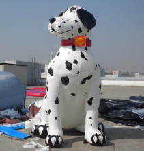 Customized Inflatable Dalmatian, 3m Inflatable Dog Ballon