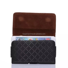 2014 new leather folding wallet case for iphone 6 Plus 5.5inch