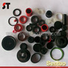 Compression molded rubber waterproof gasket