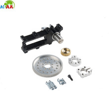 High quality aluminum channel mount gearbox Kit for robot