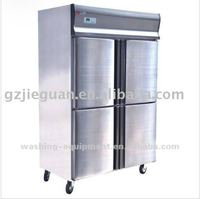1060L Commercial Refrigerator&Freezer Free standing Stainless Steel