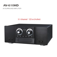 Home theater 125w 5.1 channel surround sound amplifier kit dj power subwoofer amplifier price